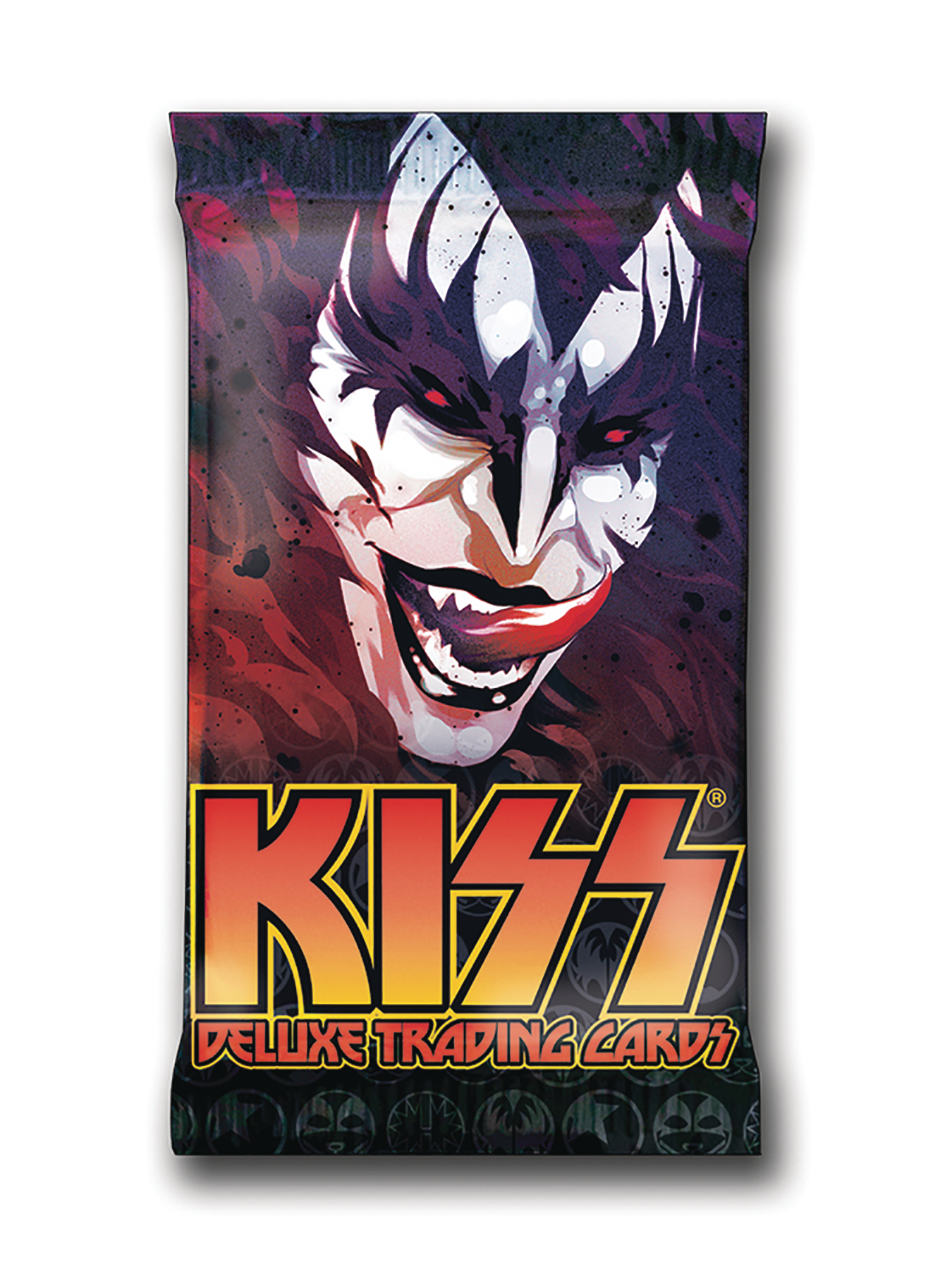 KISS DELUXE TRADING CARD FOIL 12 PACK BOX