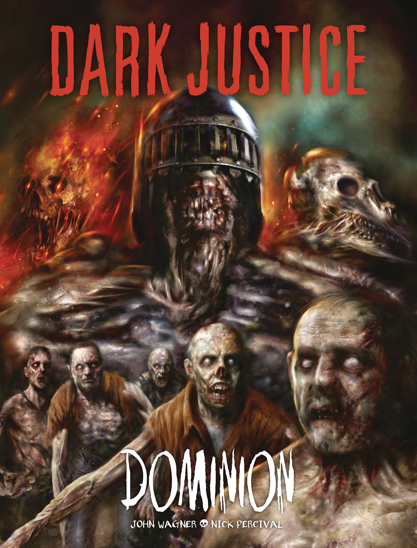 DARK JUSTICE DOMINION HC