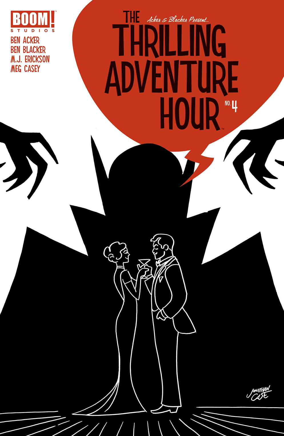 THRILLING ADVENTURE HOUR #4 (OF 4) CVR A CASE