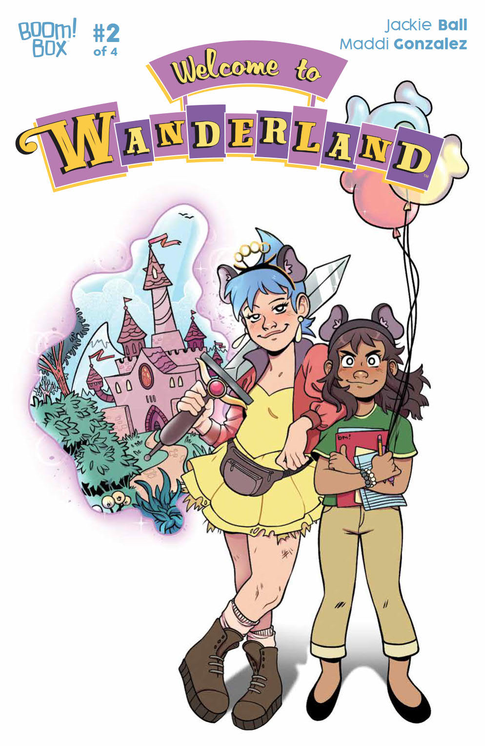 WELCOME TO WANDERLAND #2 (OF 4)