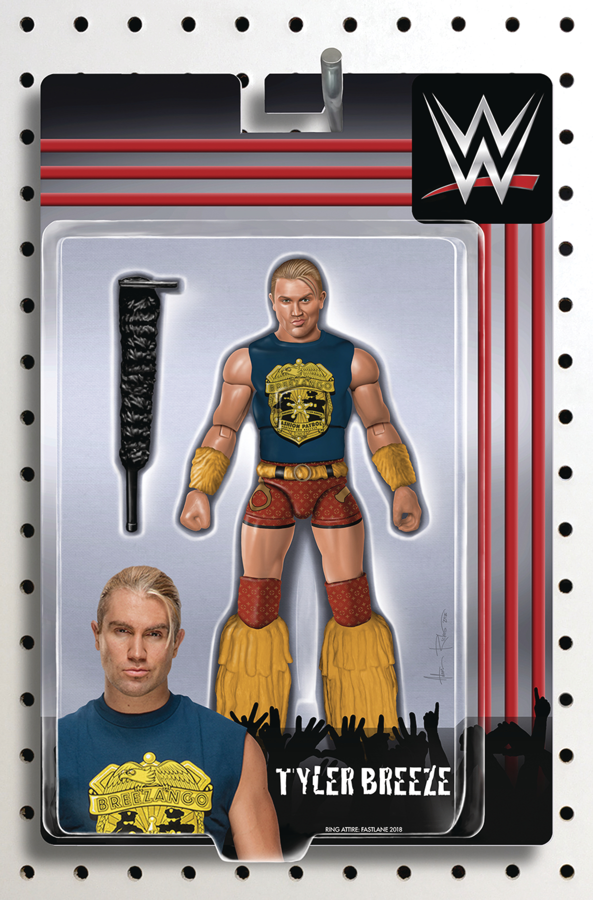 WWE #21 RICHES ACTION FIGURE VAR
