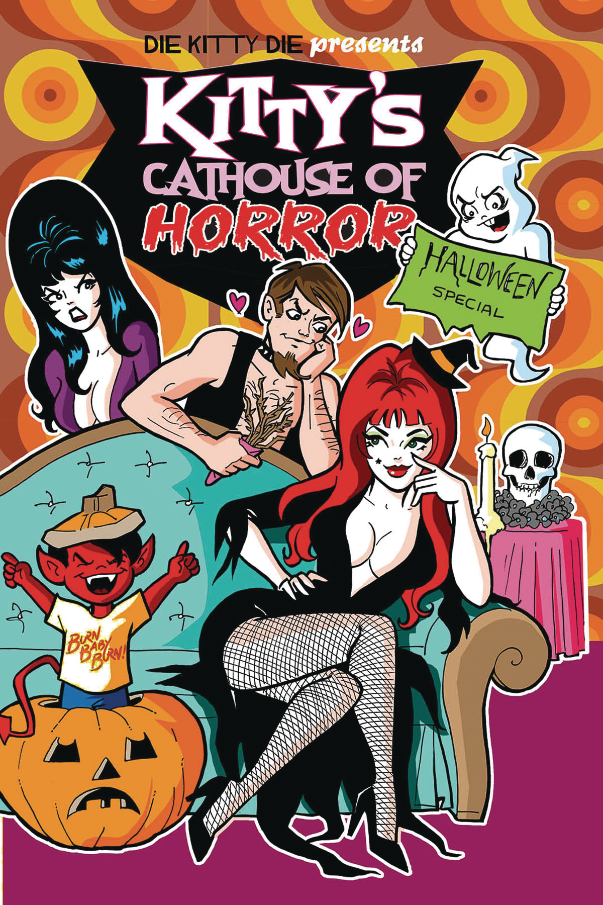 DIE KITTY DIE! CATHOUSE OF HORROR SPECIAL #1 CVR A PARENT