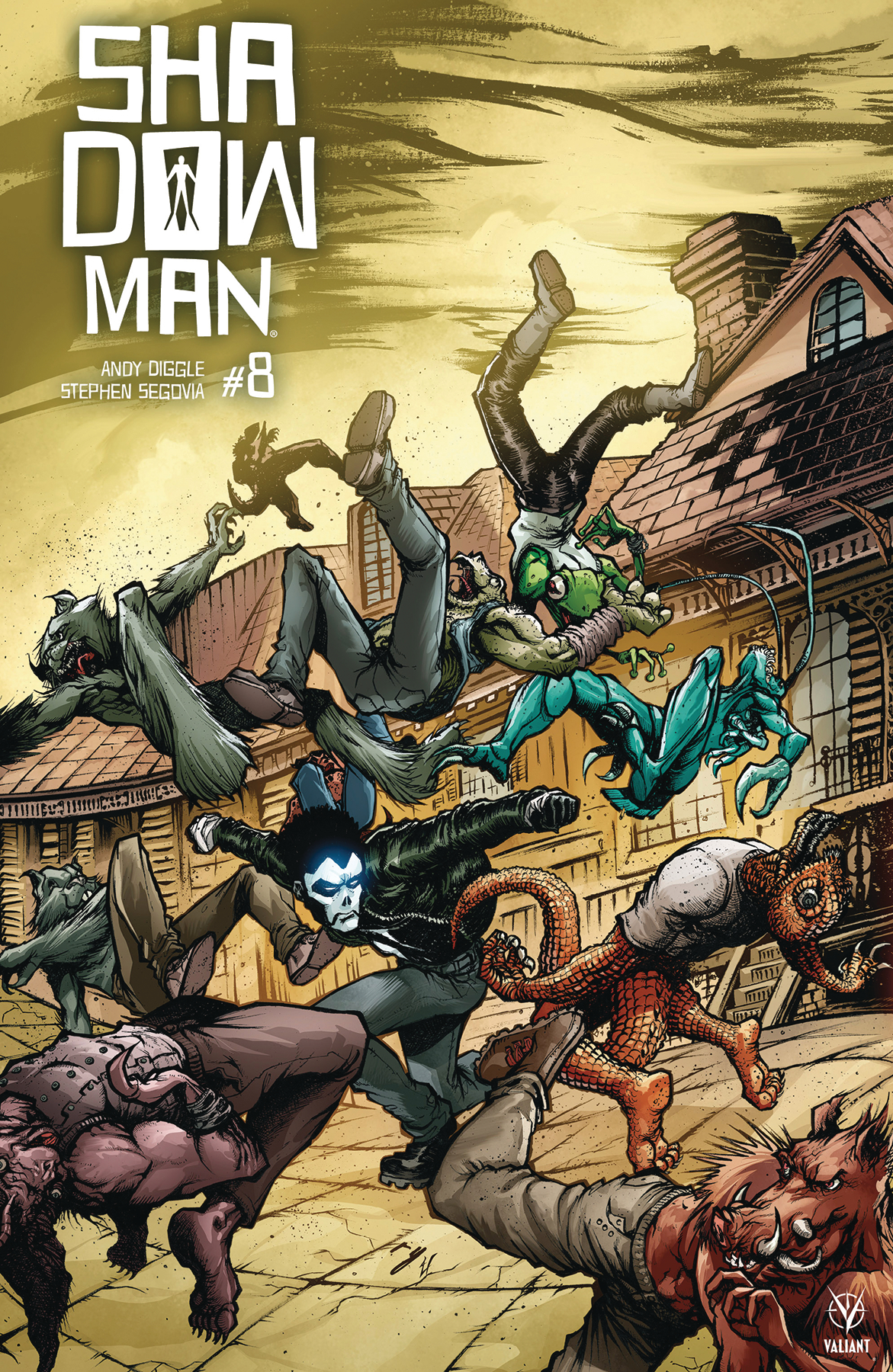 SHADOWMAN (2018) #8 (NEW ARC) CVR D 20 COPY INCV INTERLOCKIN