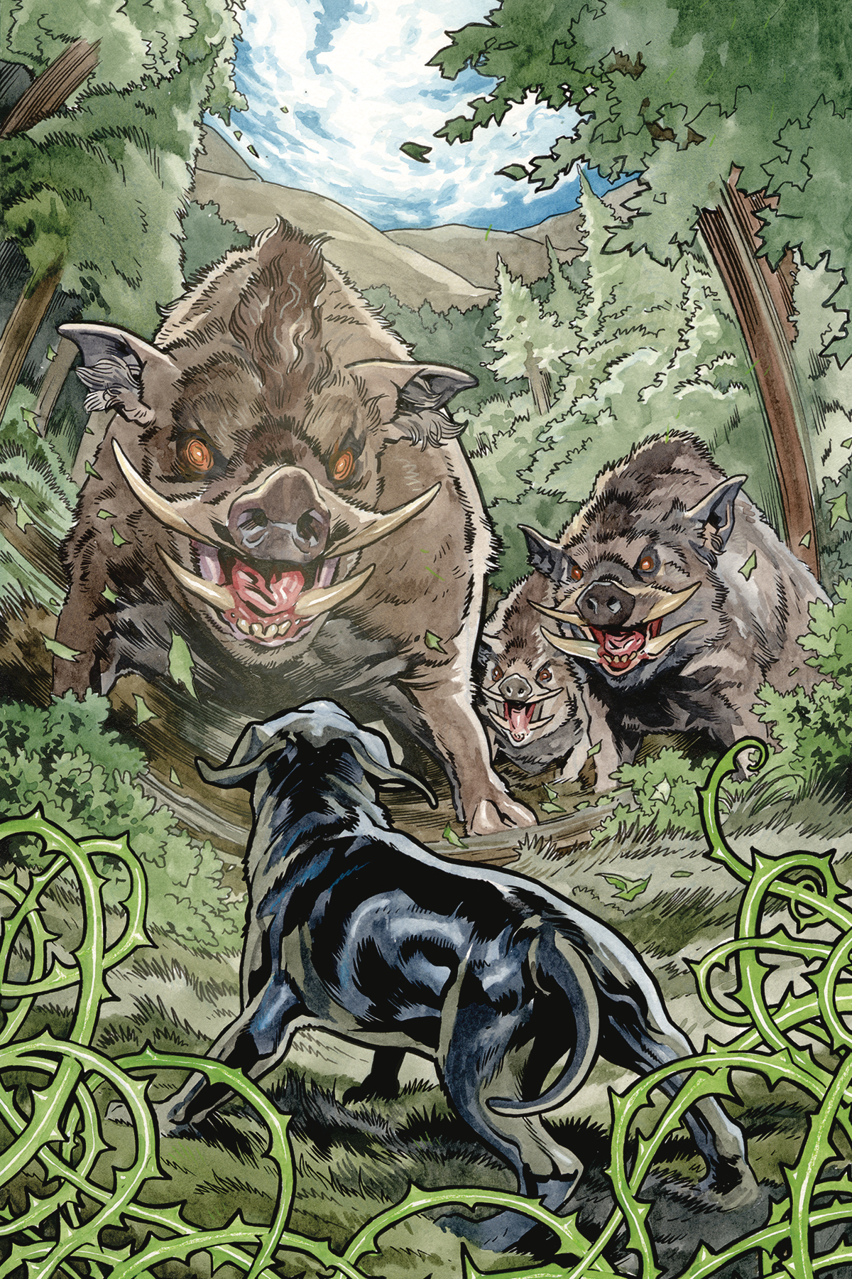 BEASTS OF BURDEN WISE DOGS AND ELDRITCH MEN #3 (OF 4) CVR A
