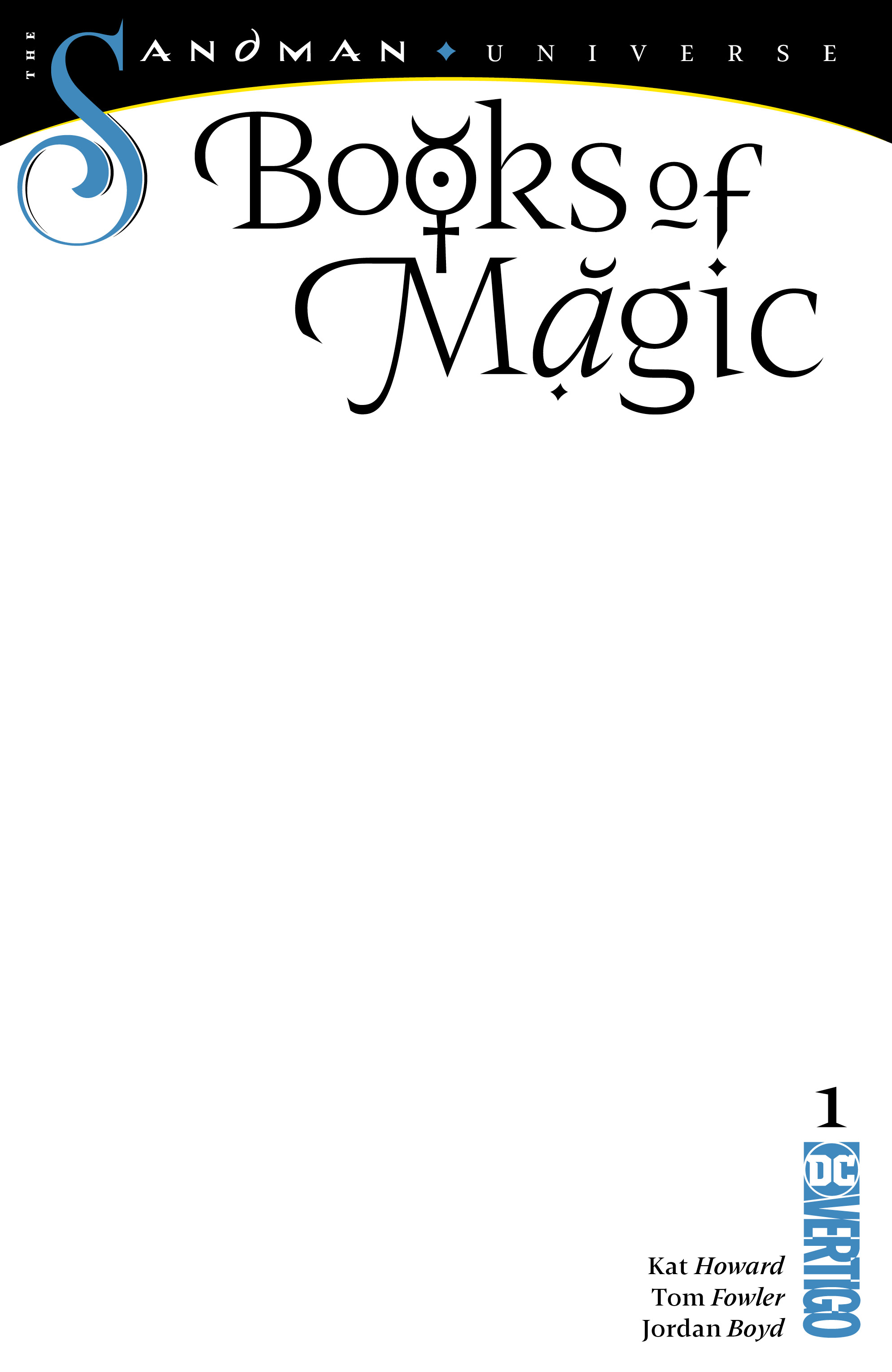 BOOKS OF MAGIC #1 BLANK VAR ED (MR)