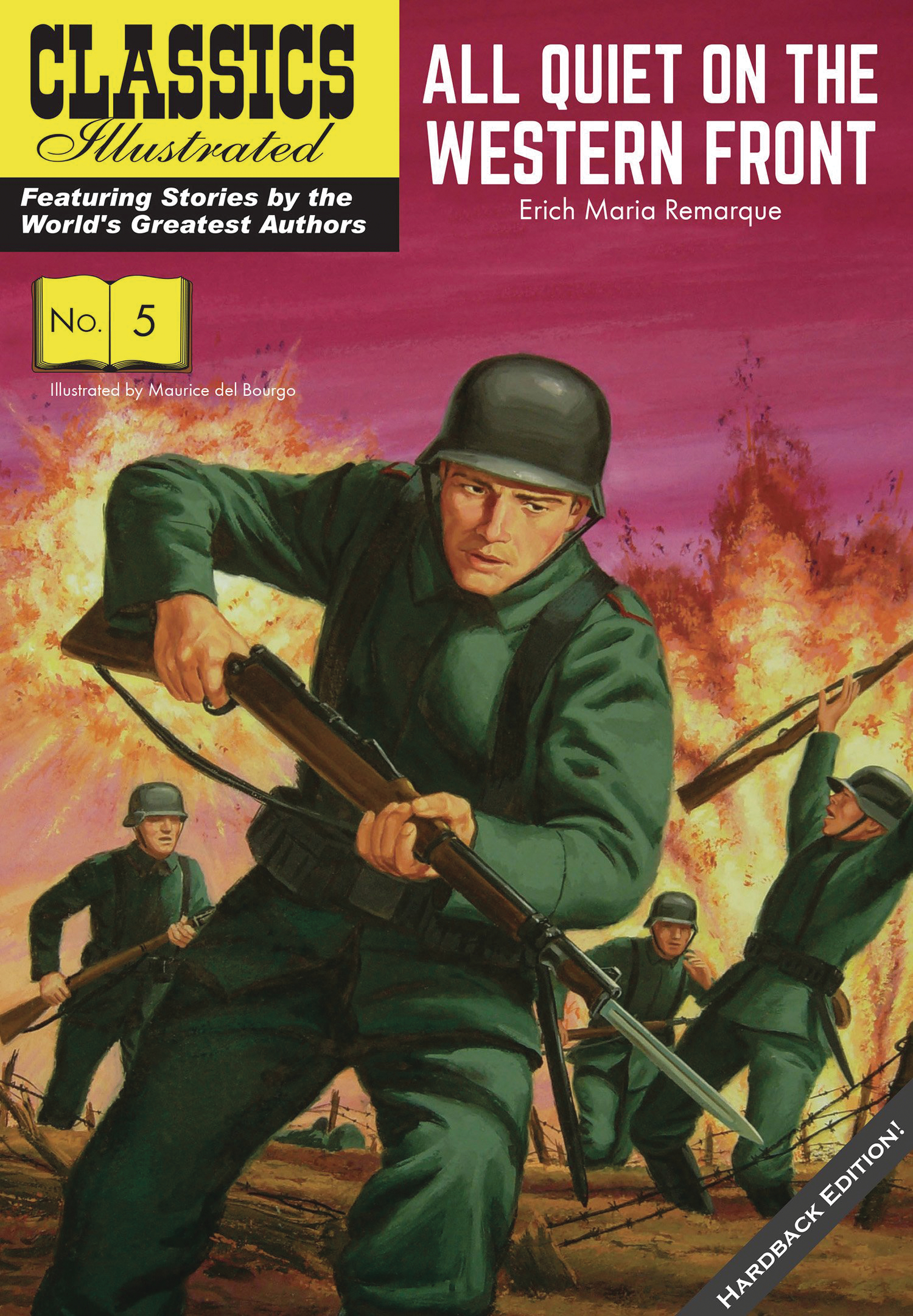CLASSIC ILLUS REPLICA ED HC ALL QUIET ON WESTERN FRONT