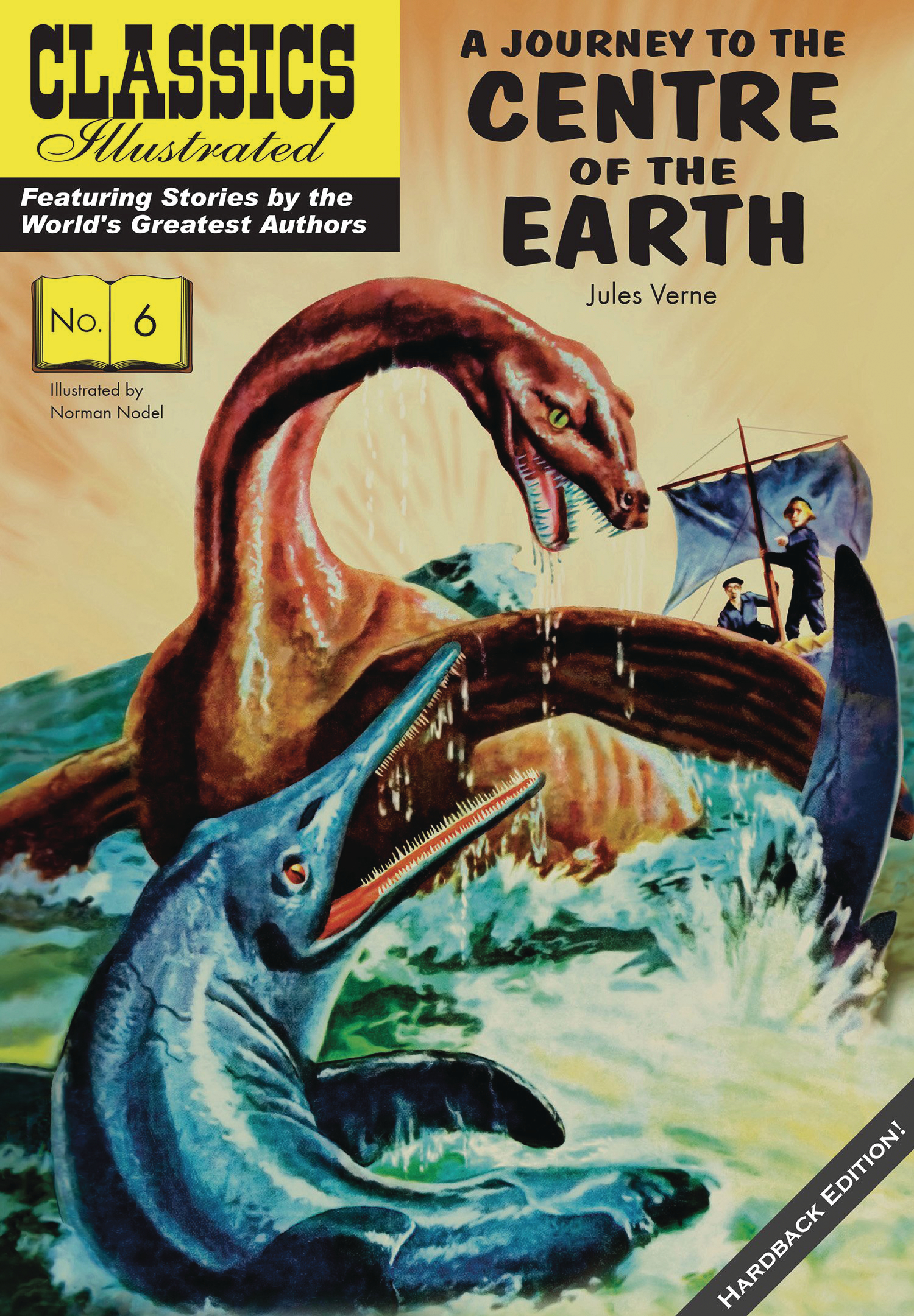 CLASSIC ILLUSTRATED REPLICA ED HC JOURNEY TO CENTER OF EARTH