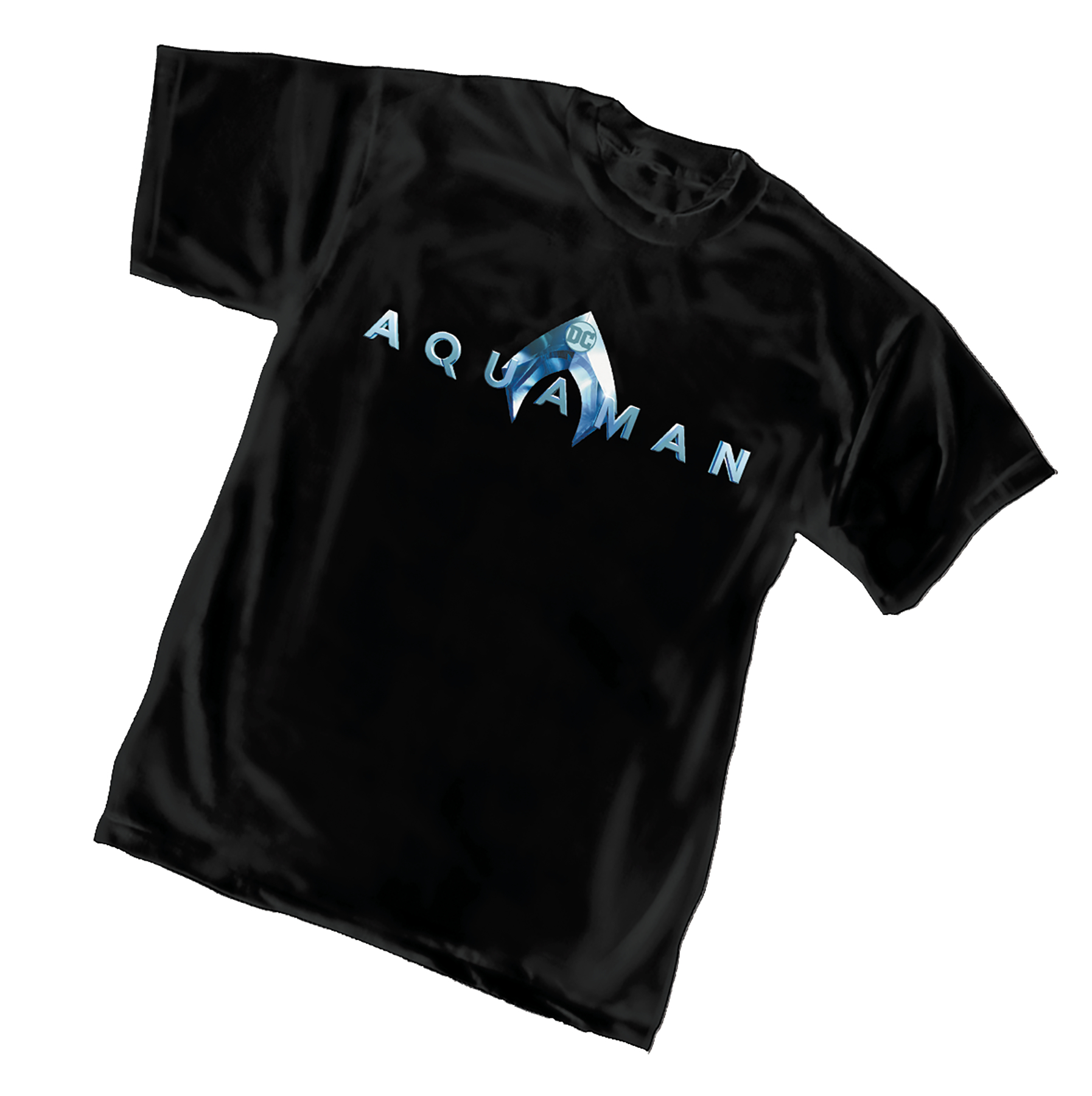 AQUAMAN MOVIE LOGO T/S SM