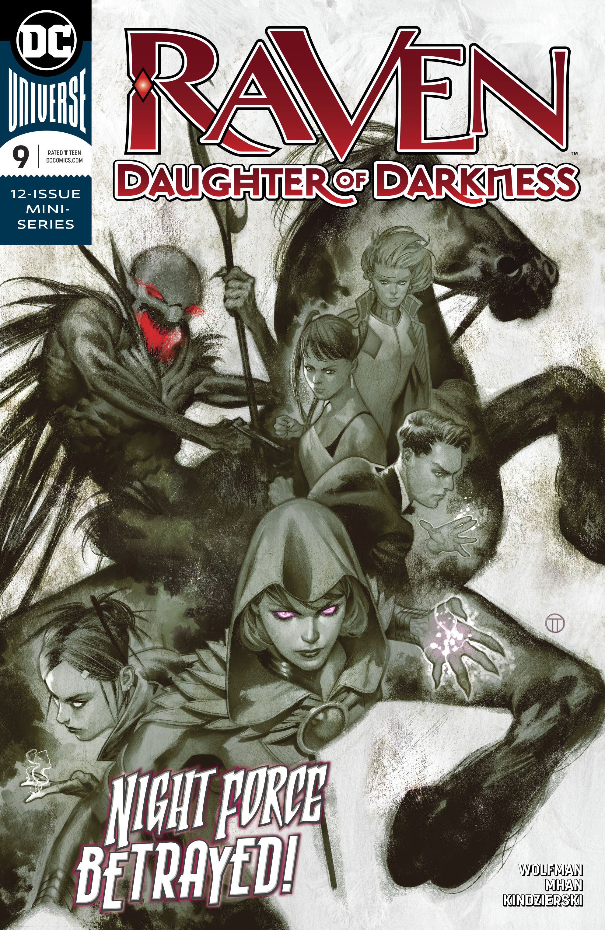 RAVEN DAUGHTER OF DARKNESS #9 (OF 12)