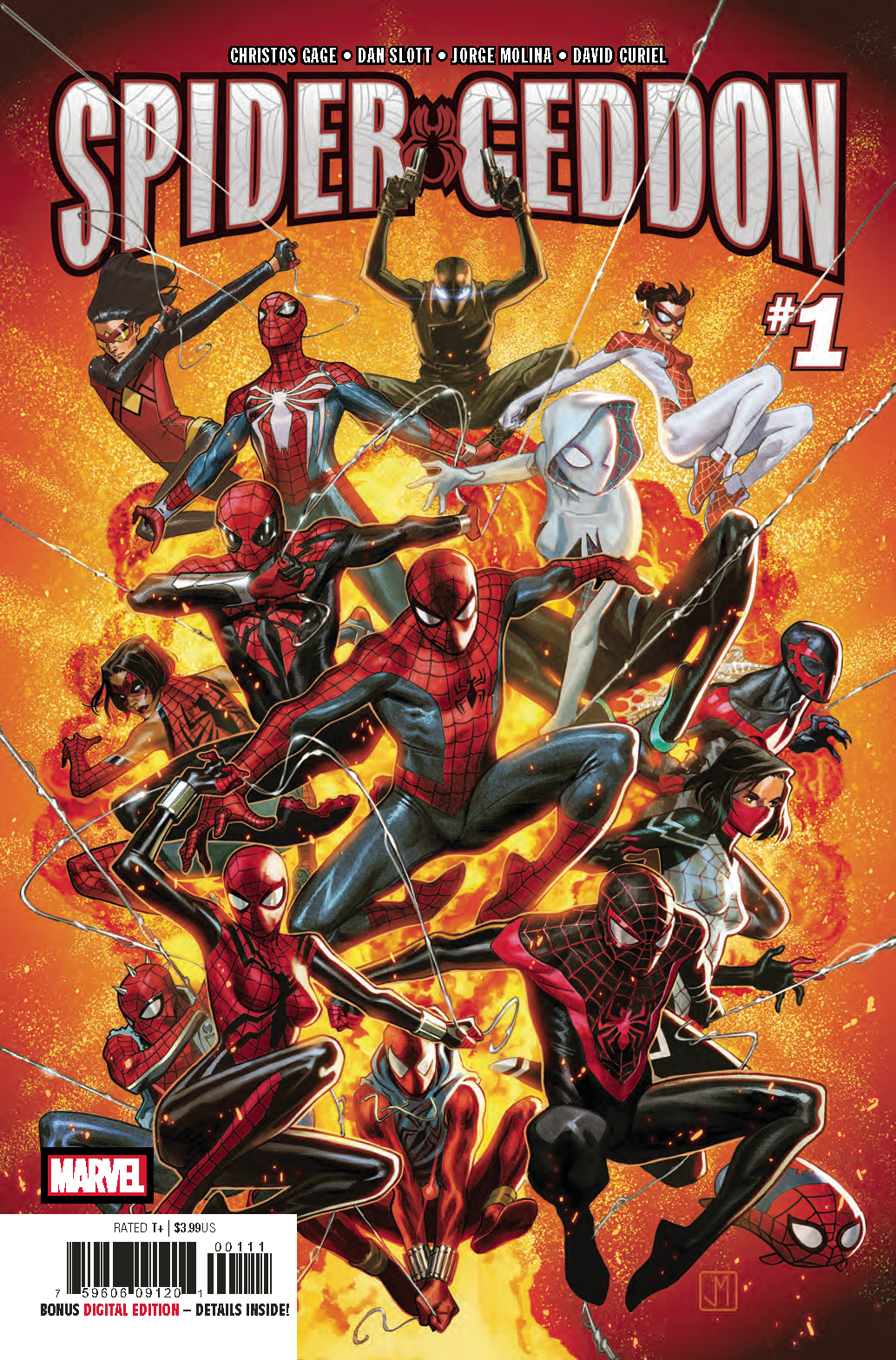 SPIDER-GEDDON #1 (OF 5)