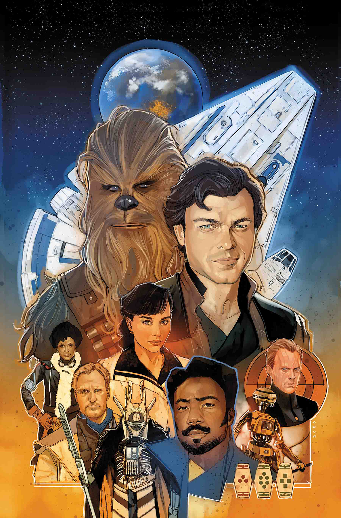 STAR WARS SOLO ADAPTATION #1 (OF 7)