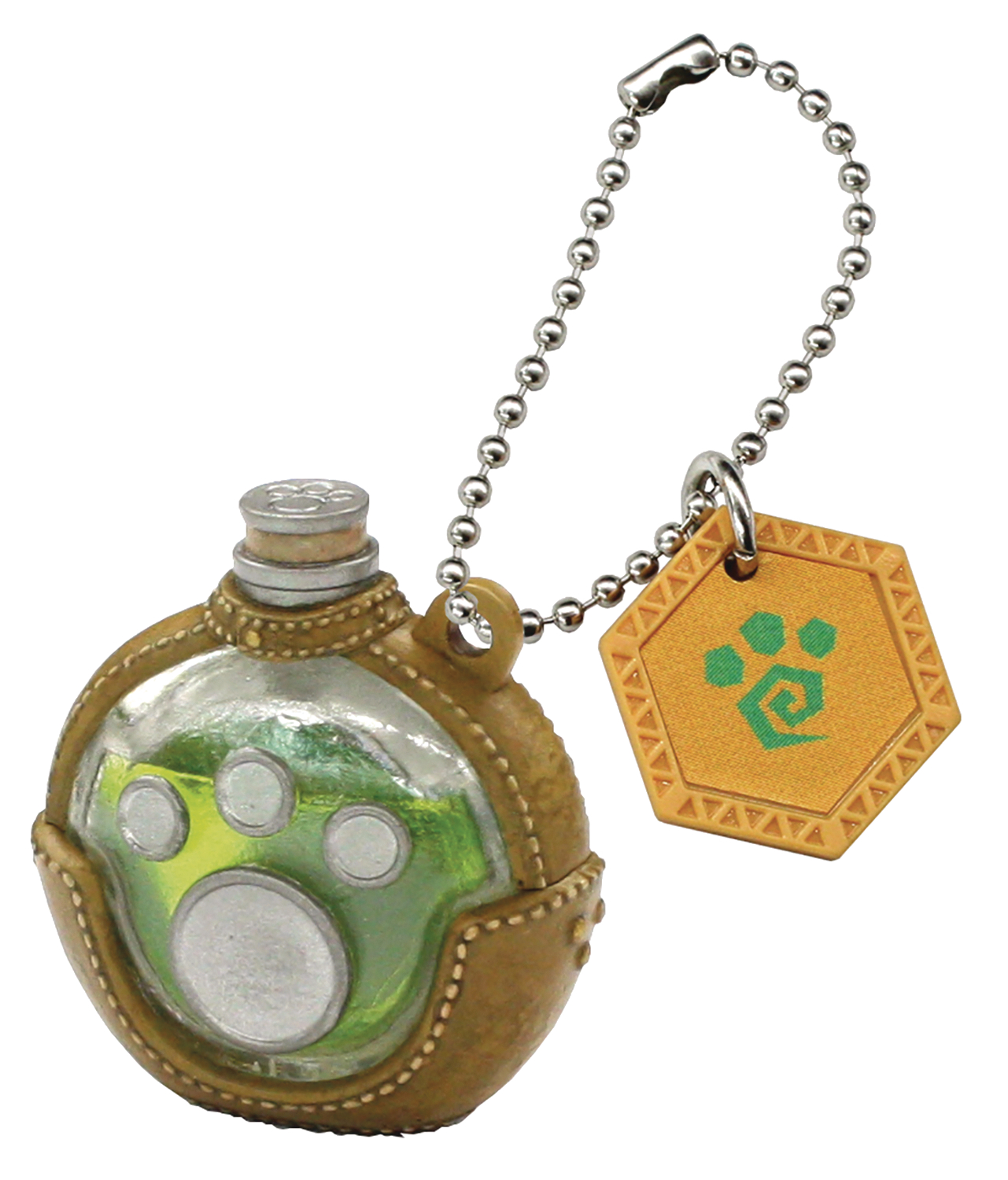 MONSTER HUNTER ITEM MASCOT PLUS PALICO POTION KEYCHAIN