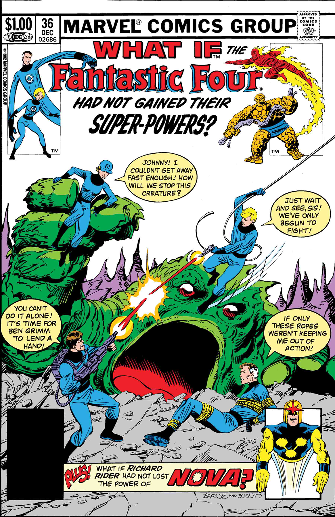 TRUE BELIEVERS WHAT IF FF HAD NOT GAINED THEIR POWERS #1