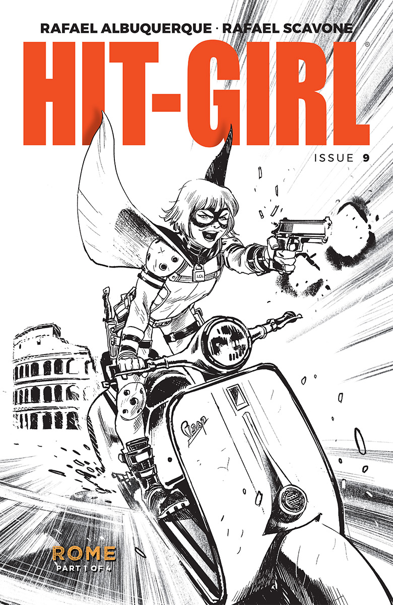 HIT-GIRL #9 CVR B ALBUQUERQUE (MR)