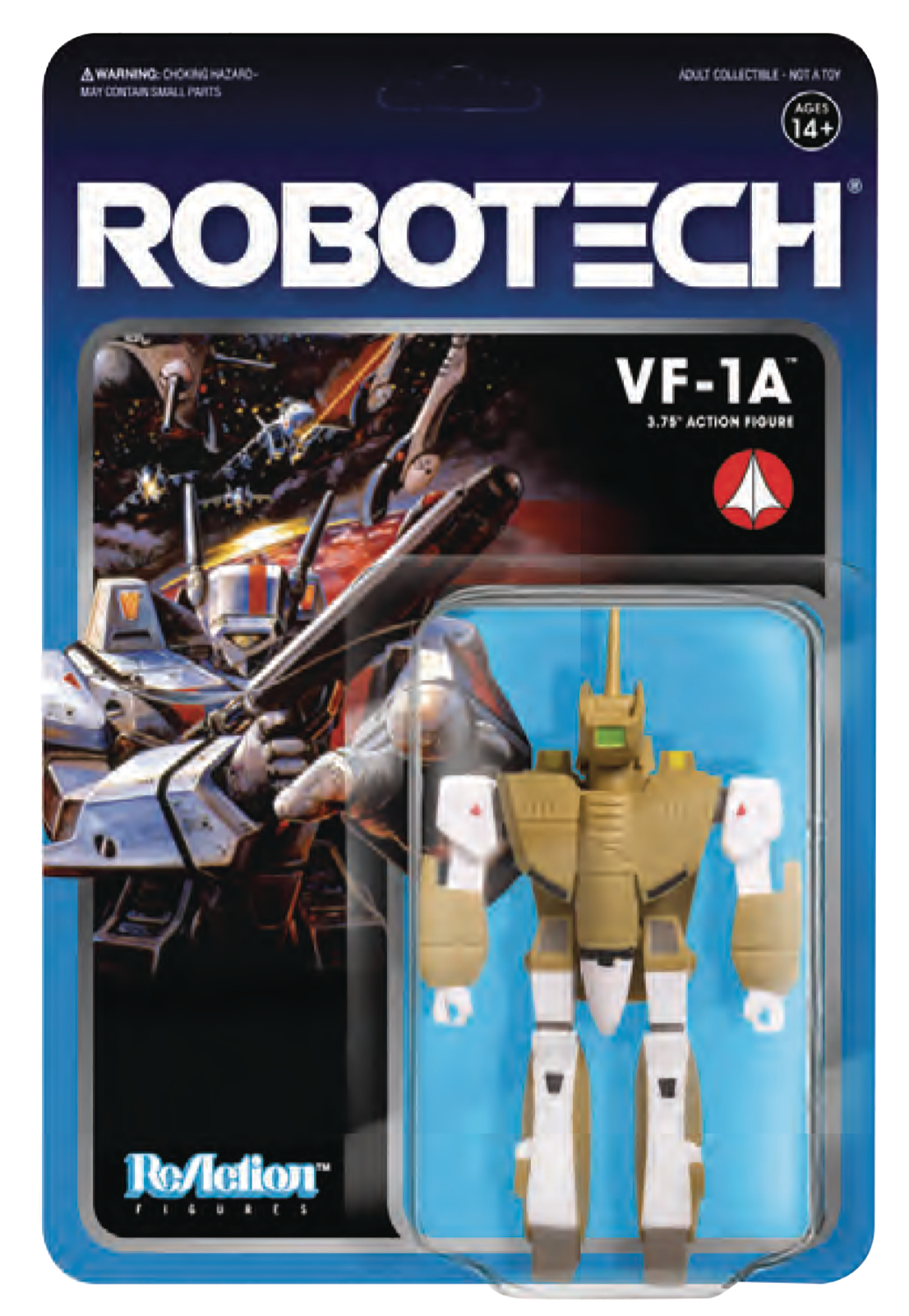 ROBOTECH 3.75IN REACTION FIG WV 1 VF-1A