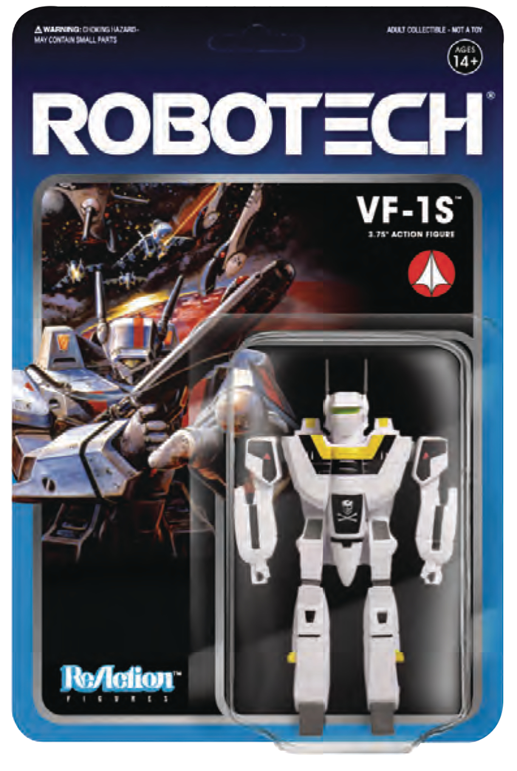 ROBOTECH 3.75IN REACTION FIG WV 1 VF-1S