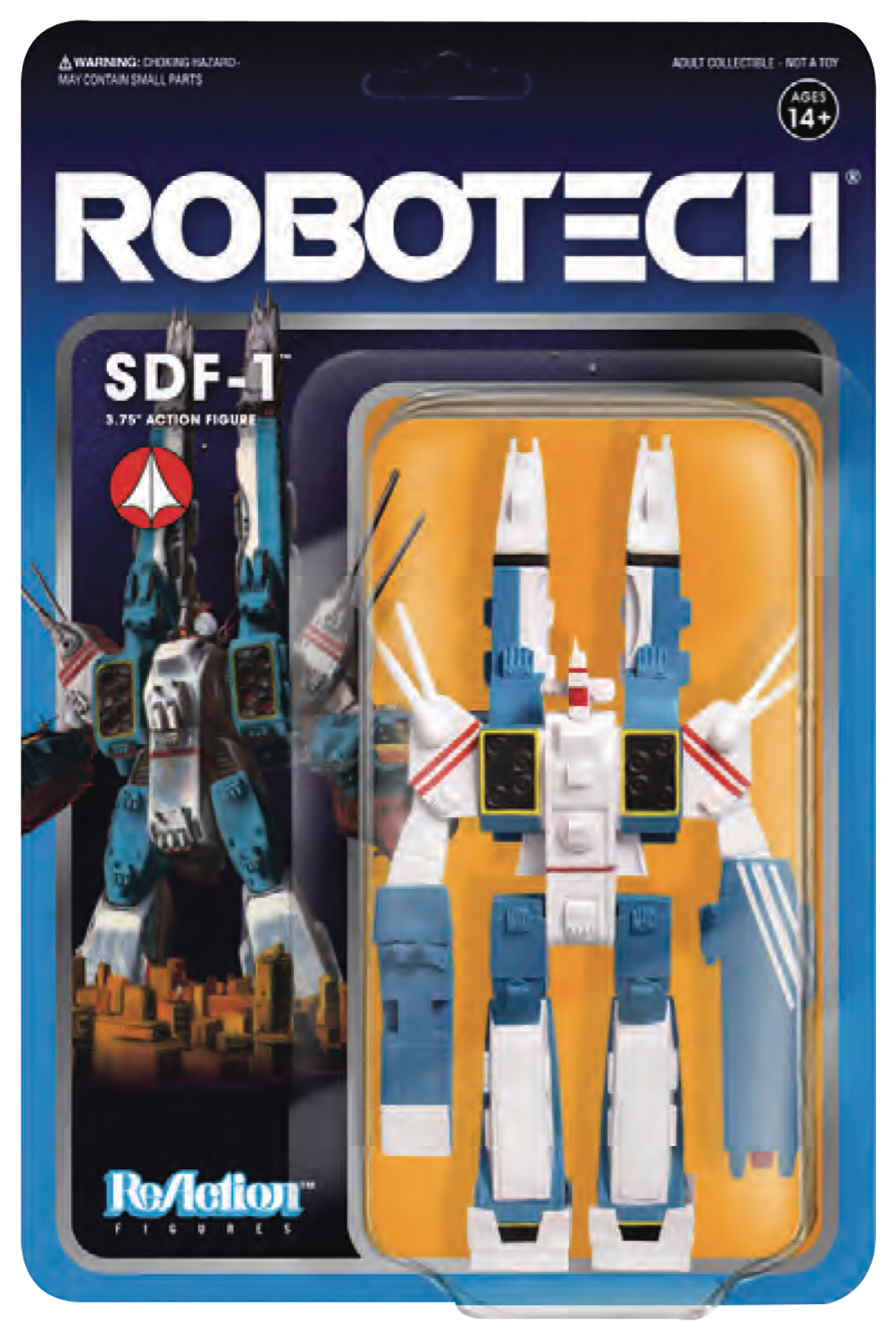 ROBOTECH 3.75IN REACTION FIG WV 1 SDF-1