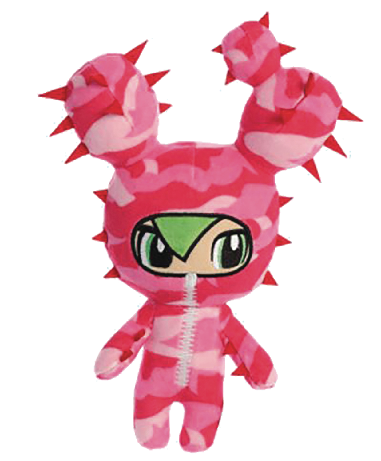 TOKIDOKI CACTUS FRIENDS SABOCHAN 10 IN PLUSH