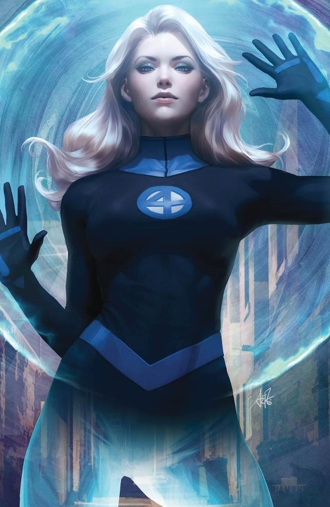 DF FANTASTIC FOUR #1 COMICXSPOSURE ARTGERM EXC