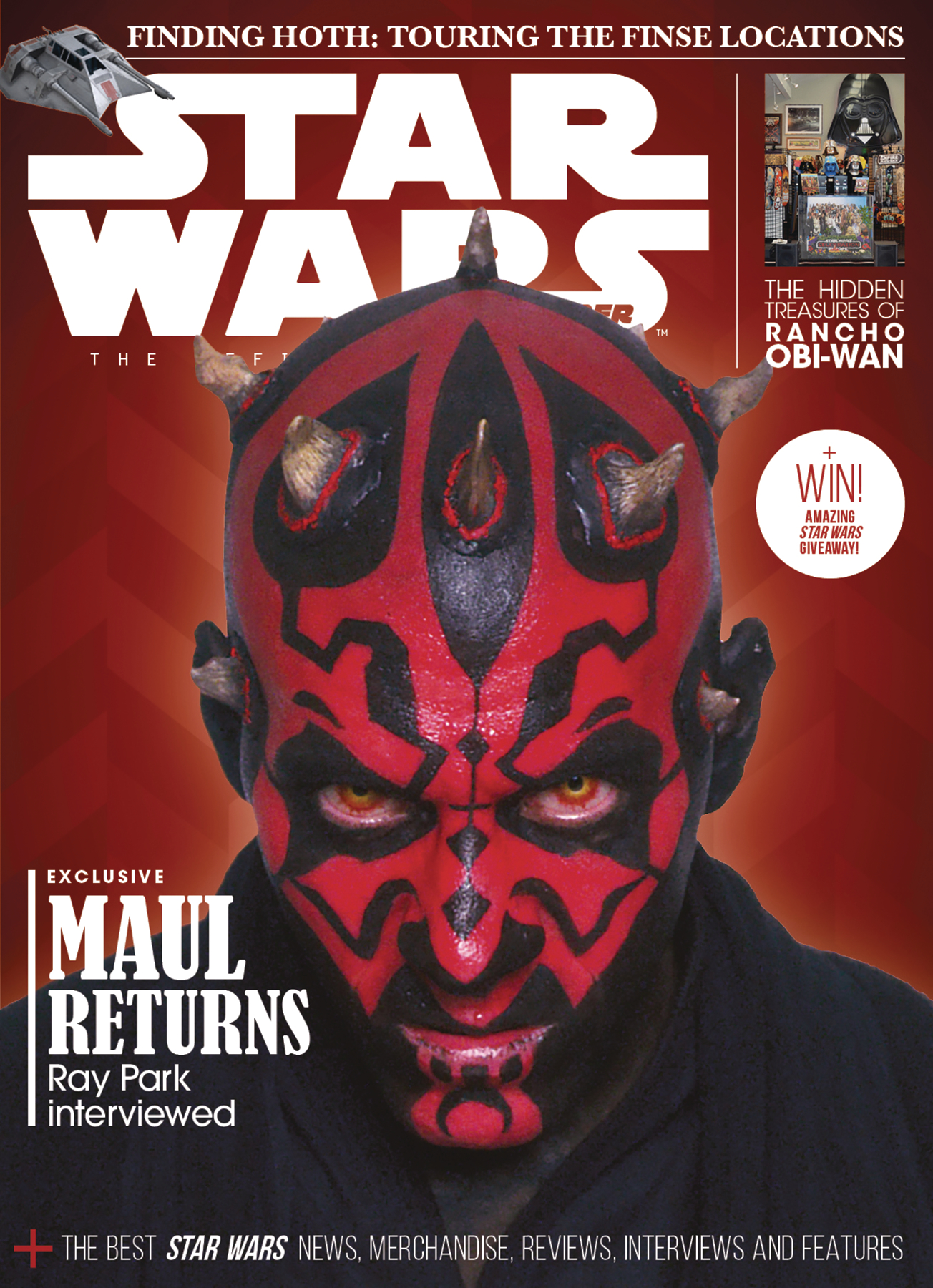 STAR WARS INSIDER #185 NEWSSTAND ED