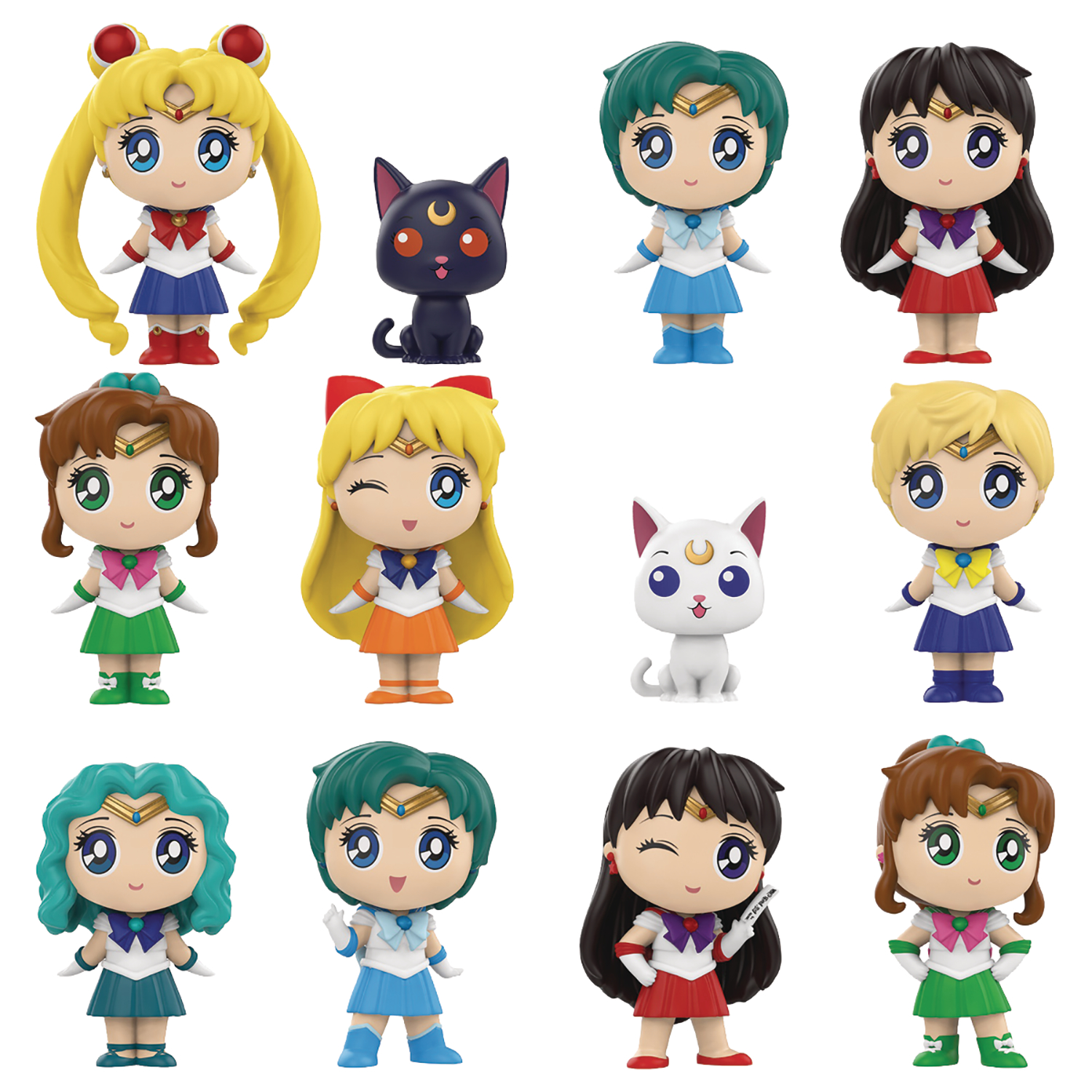SPECIALTY SERIES MYSTERY MINIS SAILOR MOON S1 12PC BMB DISP