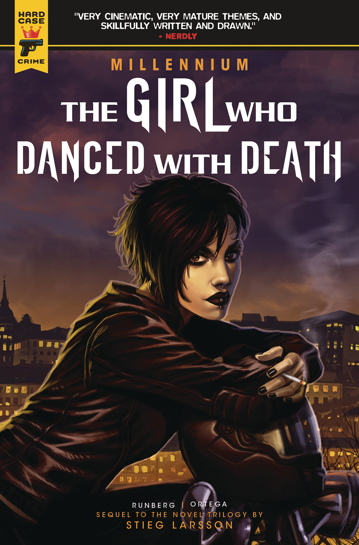 GIRL WHO DANCED WITH DEATH MIL SAGA TP