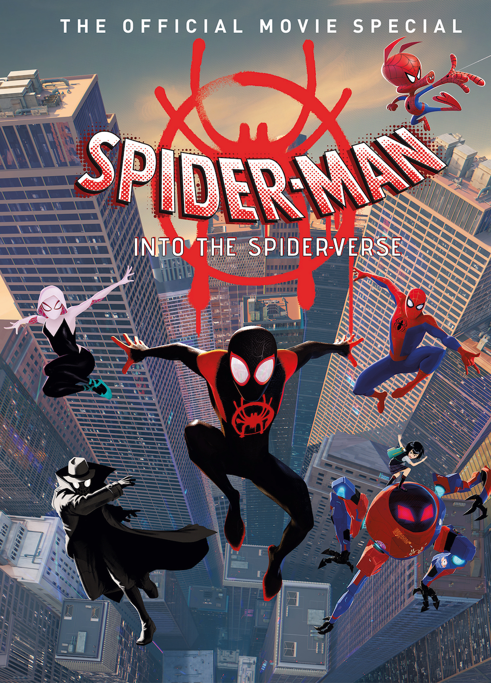 SPIDER MAN INTO THE SPIDERVERSE MOVIE SPECIAL HC