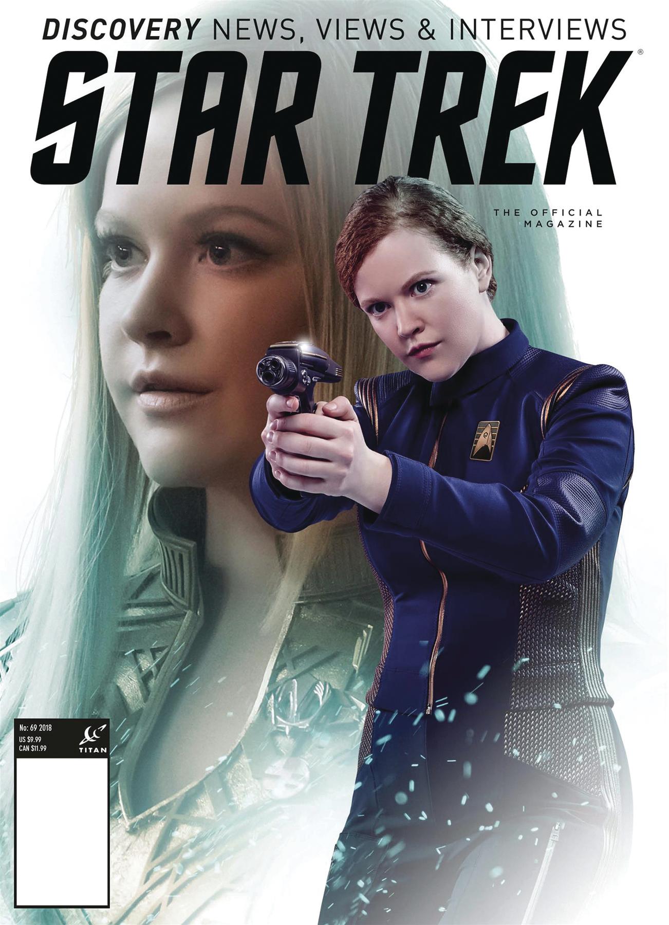 STAR TREK MAGAZINE #69 PX