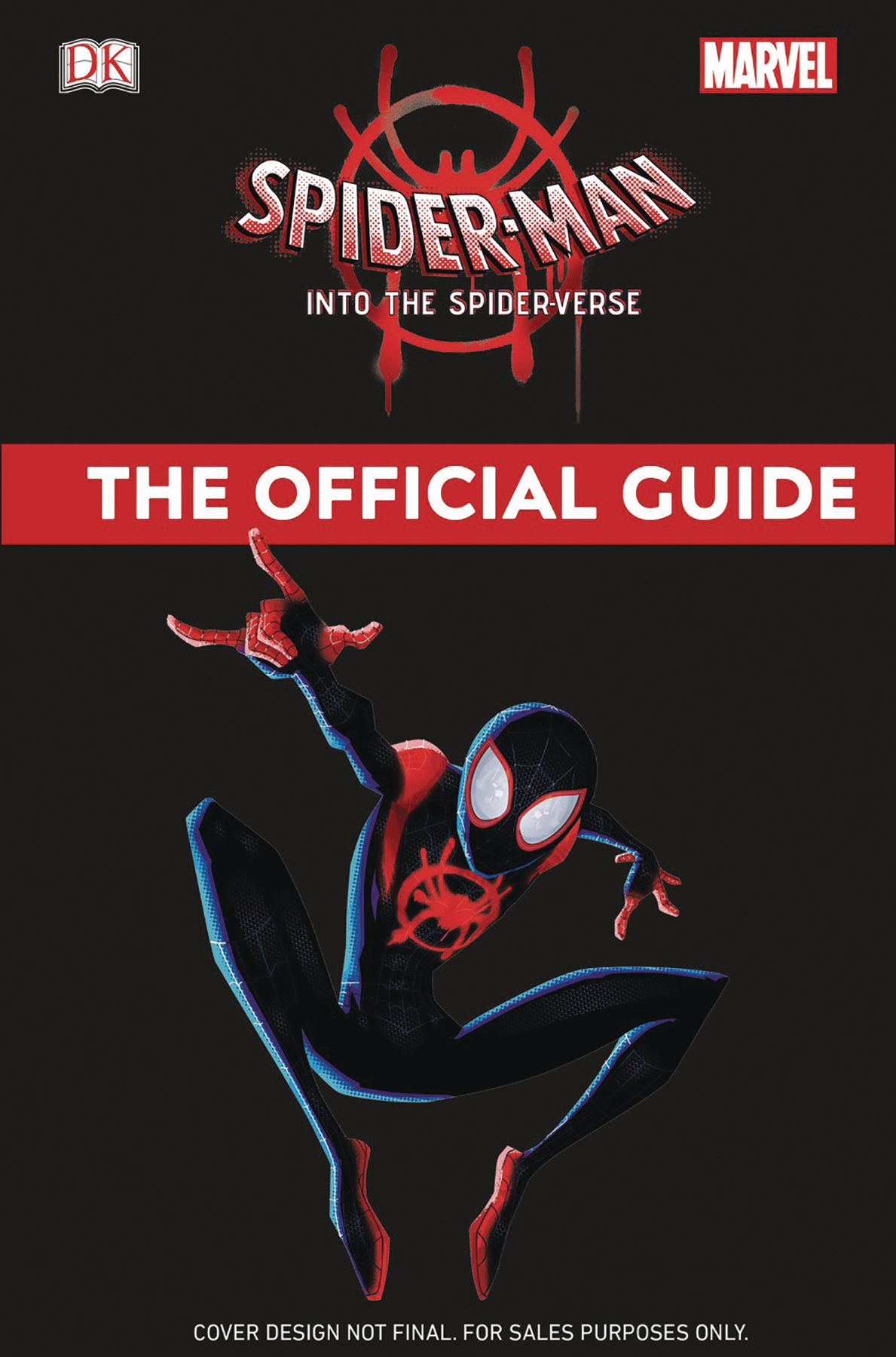 MARVEL SPIDER-MAN INTO SPIDERVERSE OFFI GUIDE