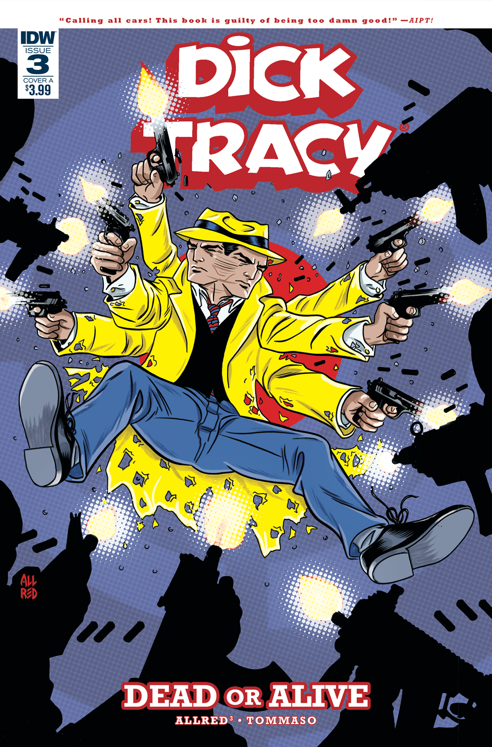 DICK TRACY DEAD OR ALIVE #3 (OF 4) CVR A ALLRED