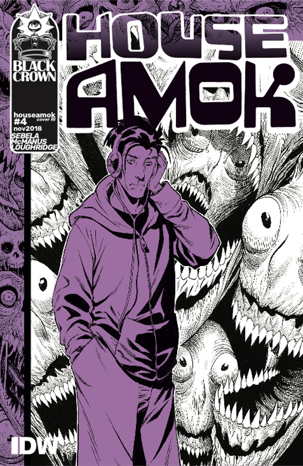 HOUSE AMOK #4 10 COPY INCV MCMANUS
