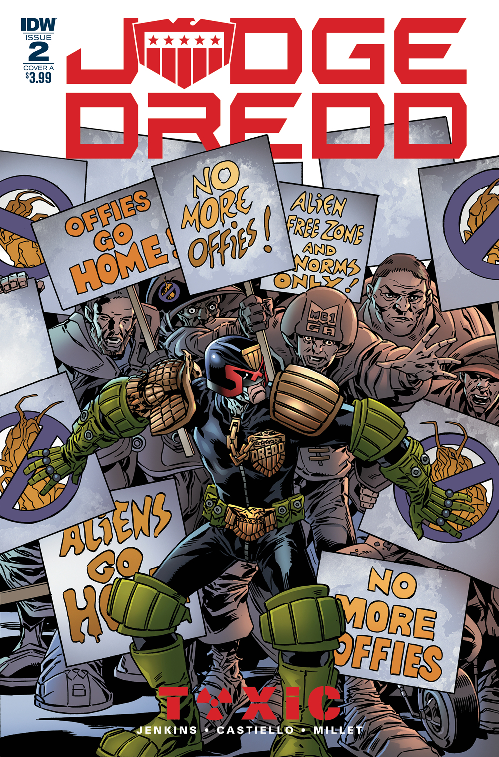 JUDGE DREDD TOXIC #2 CVR A BUCKINGHAM