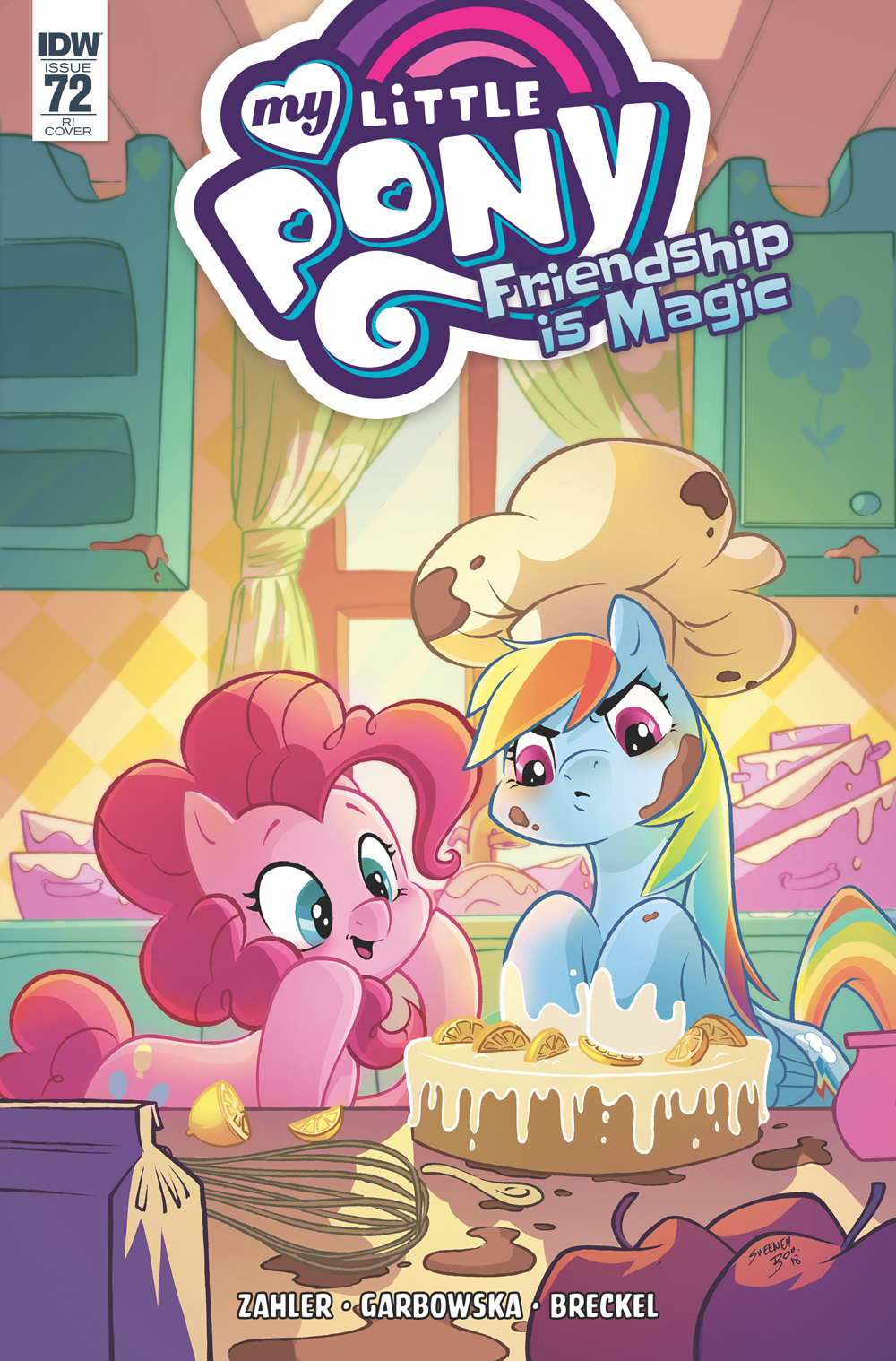 MY LITTLE PONY FRIENDSHIP IS MAGIC #72 10 COPY INCV BOO (NET