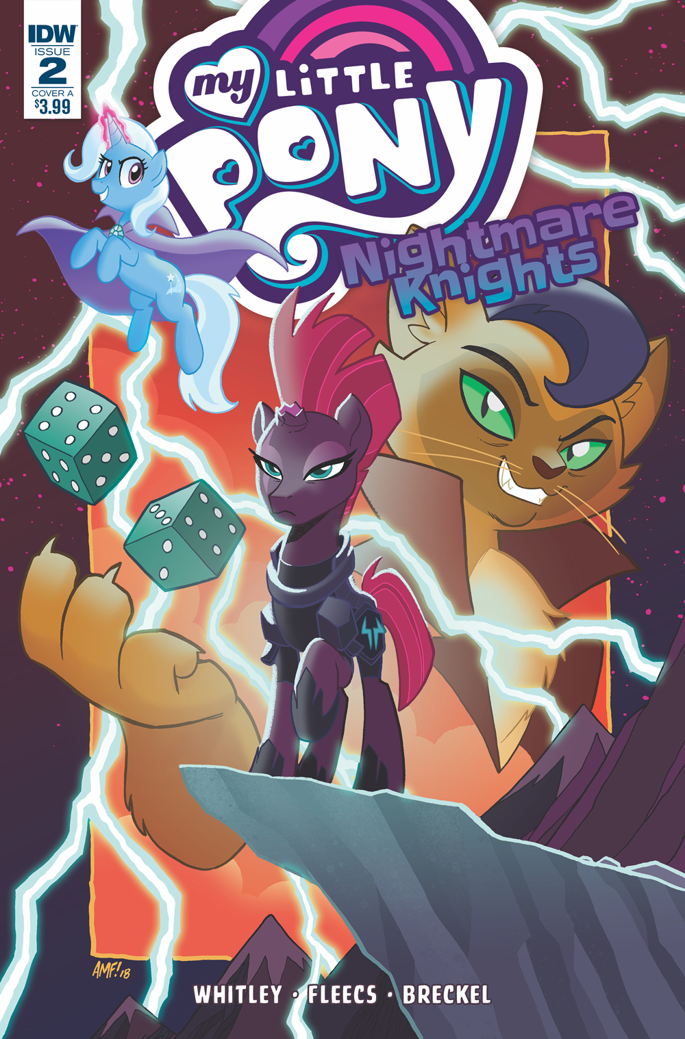 MY LITTLE PONY NIGHTMARE KNIGHTS #2 CVR A FLEECS