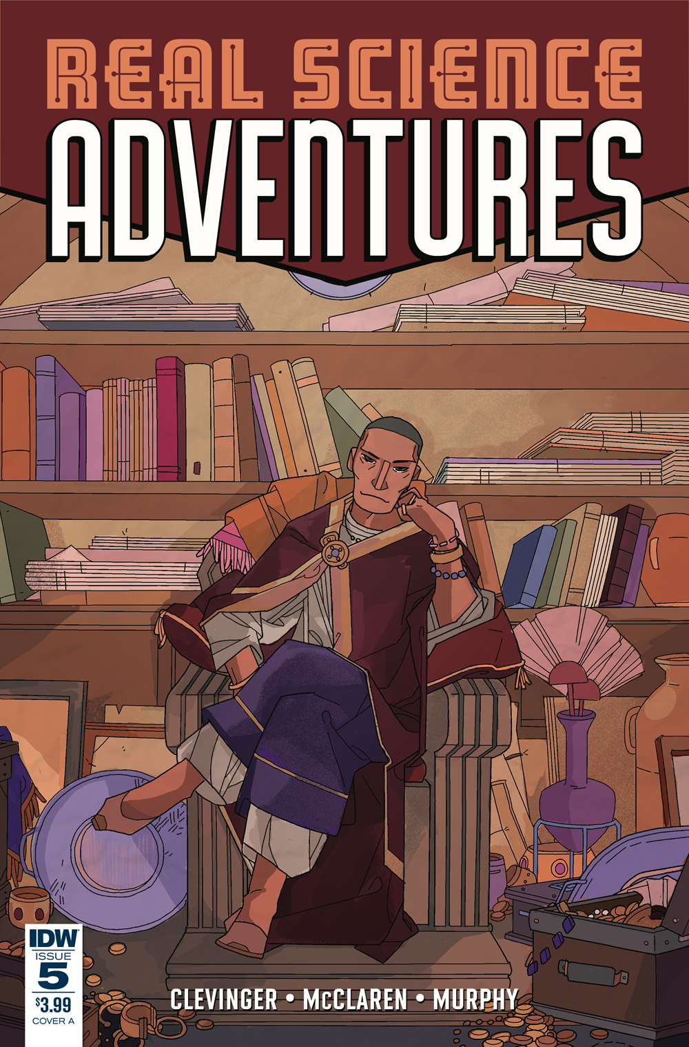 REAL SCIENCE ADVENTURES NICODEMUS JOB #5 CVR A MCCLAREN
