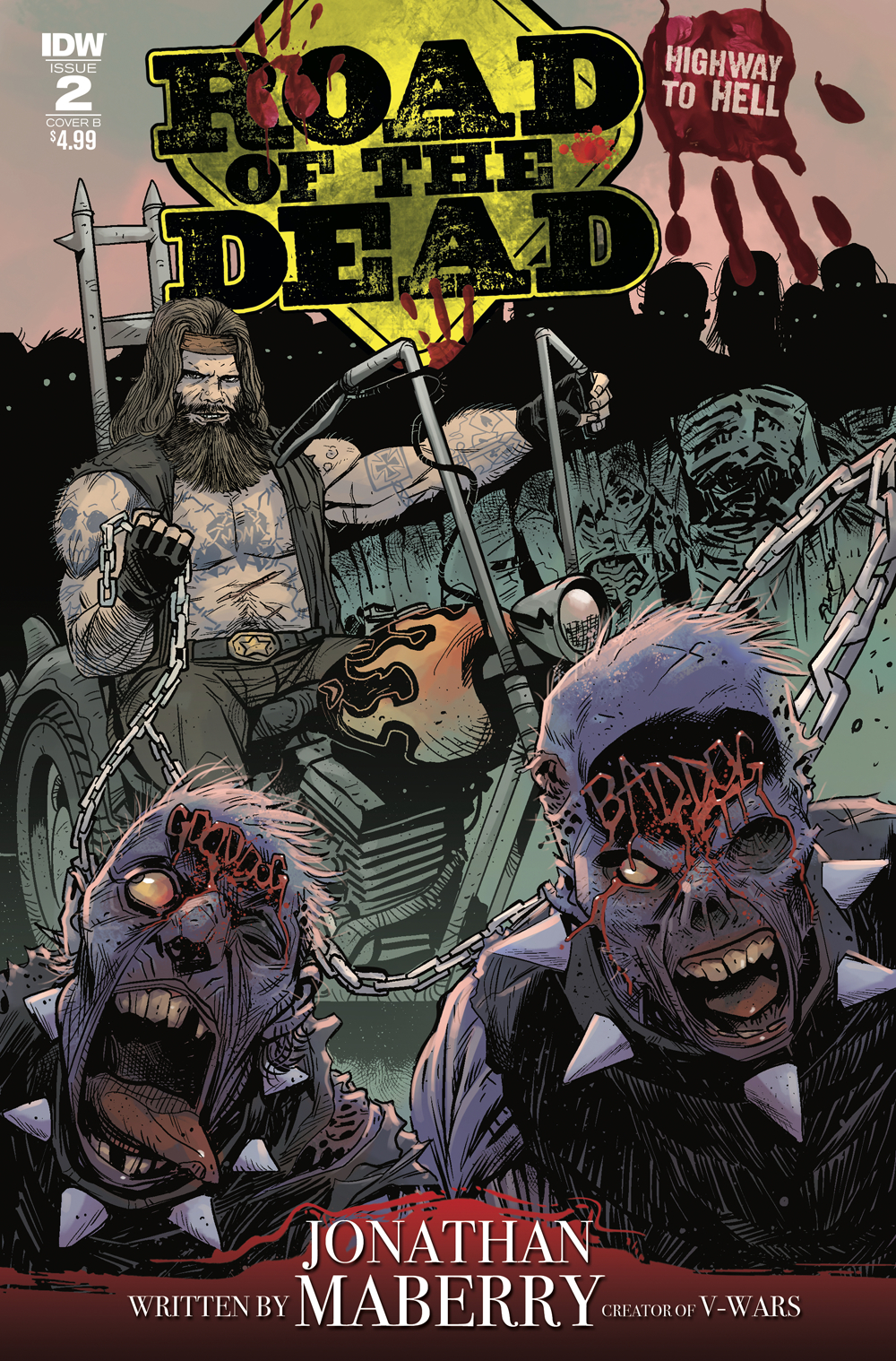 ROAD OF THE DEAD HIGHWAY TO HELL #2 CVR B MOSS