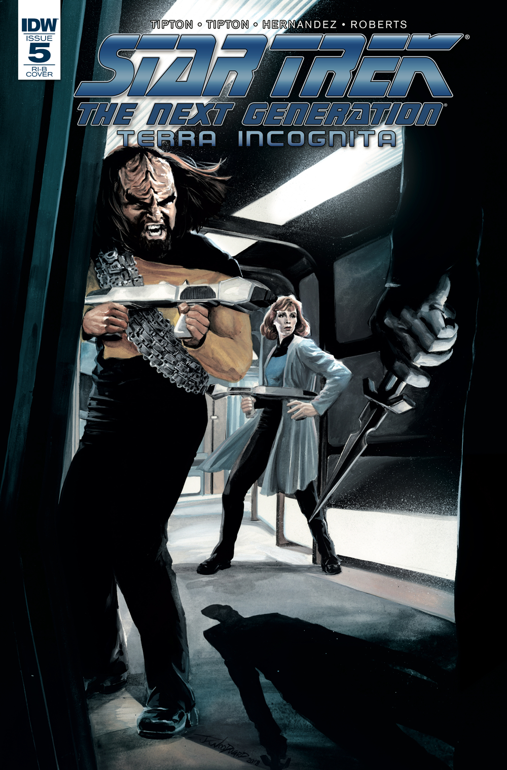 STAR TREK TNG TERRA INCOGNITA #5 25 COPY INCV WOODWARD
