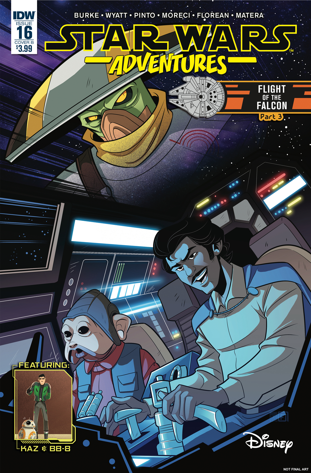 STAR WARS ADVENTURES #16 CVR B FLOREAN