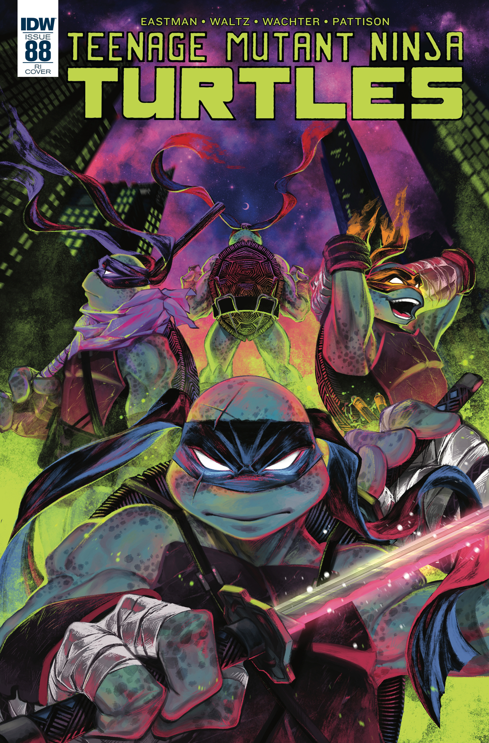 TMNT ONGOING #88 10 COPY INCV PASZTOR
