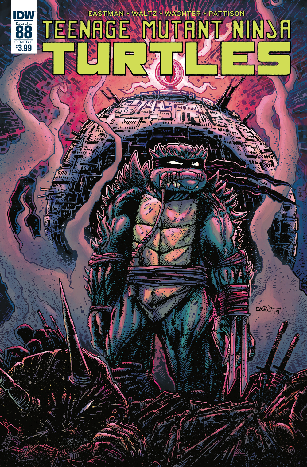 TMNT ONGOING #88 CVR B EASTMAN