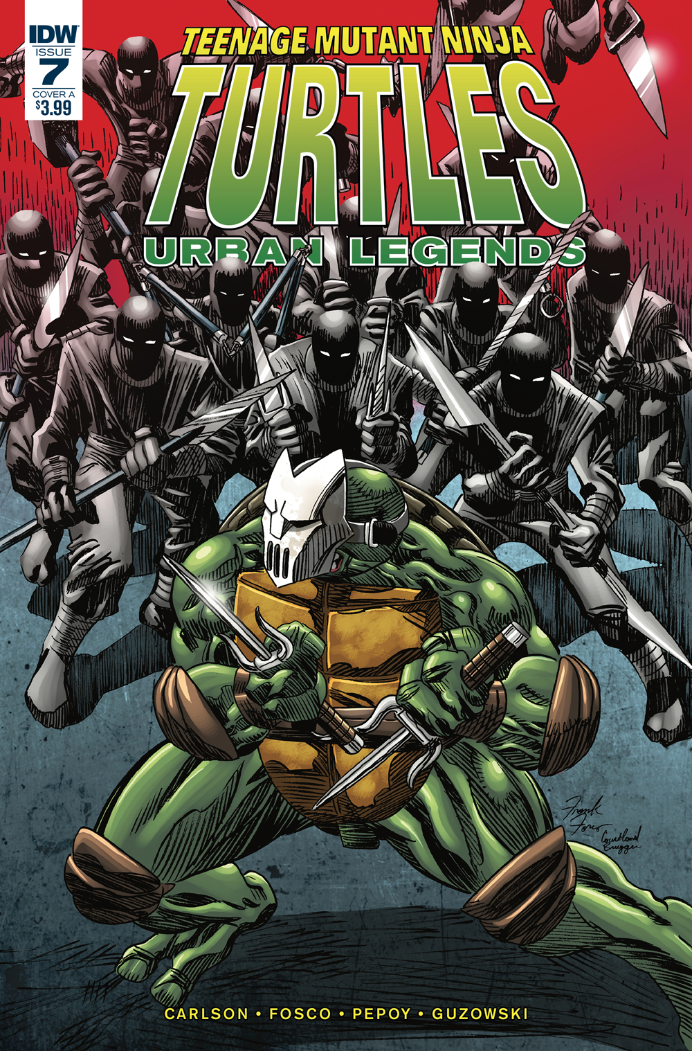 TMNT URBAN LEGENDS #7 CVR A FOSCO