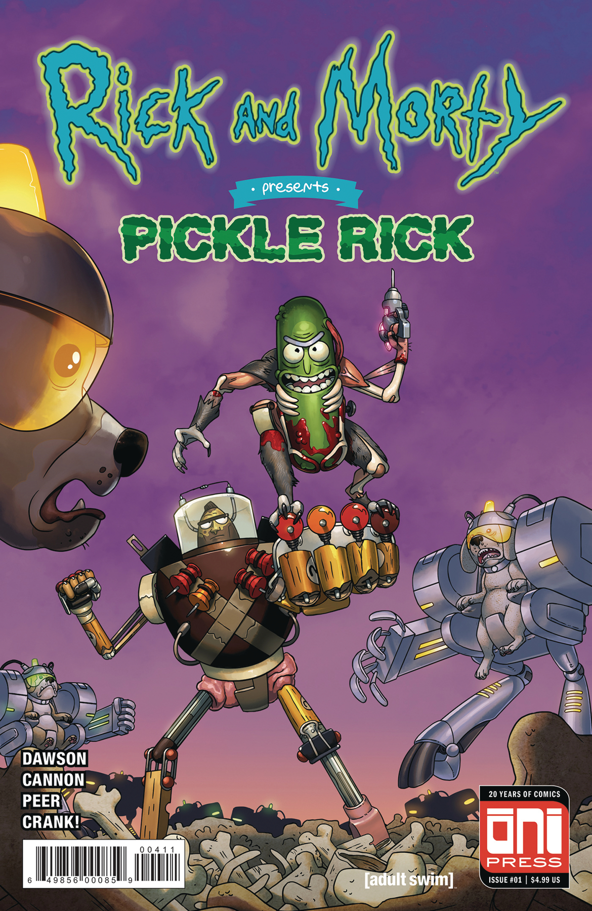 RICK & MORTY PRESENTS PICKLE RICK #1 CVR A