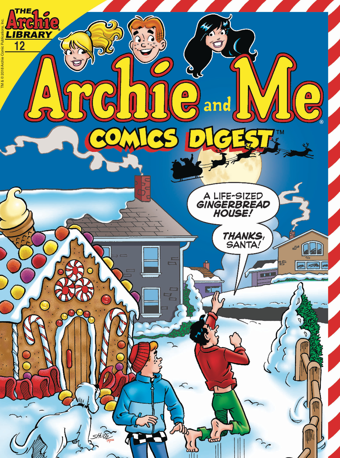 ARCHIE AND ME COMICS DIGEST #12