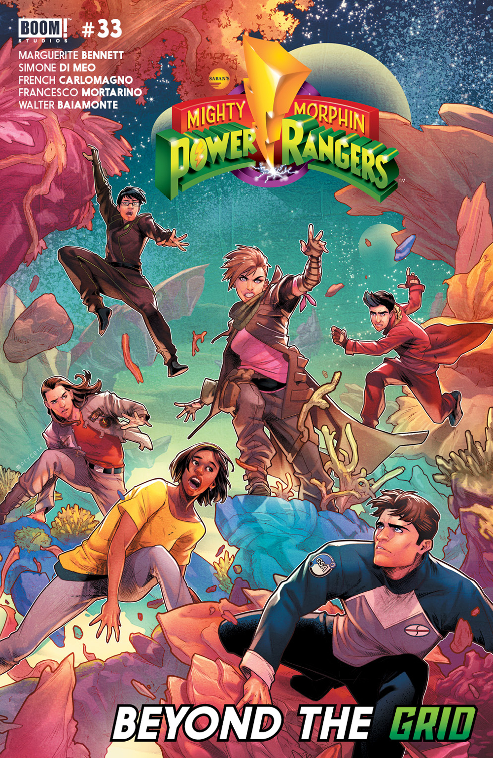 MIGHTY MORPHIN POWER RANGERS #33 MAIN
