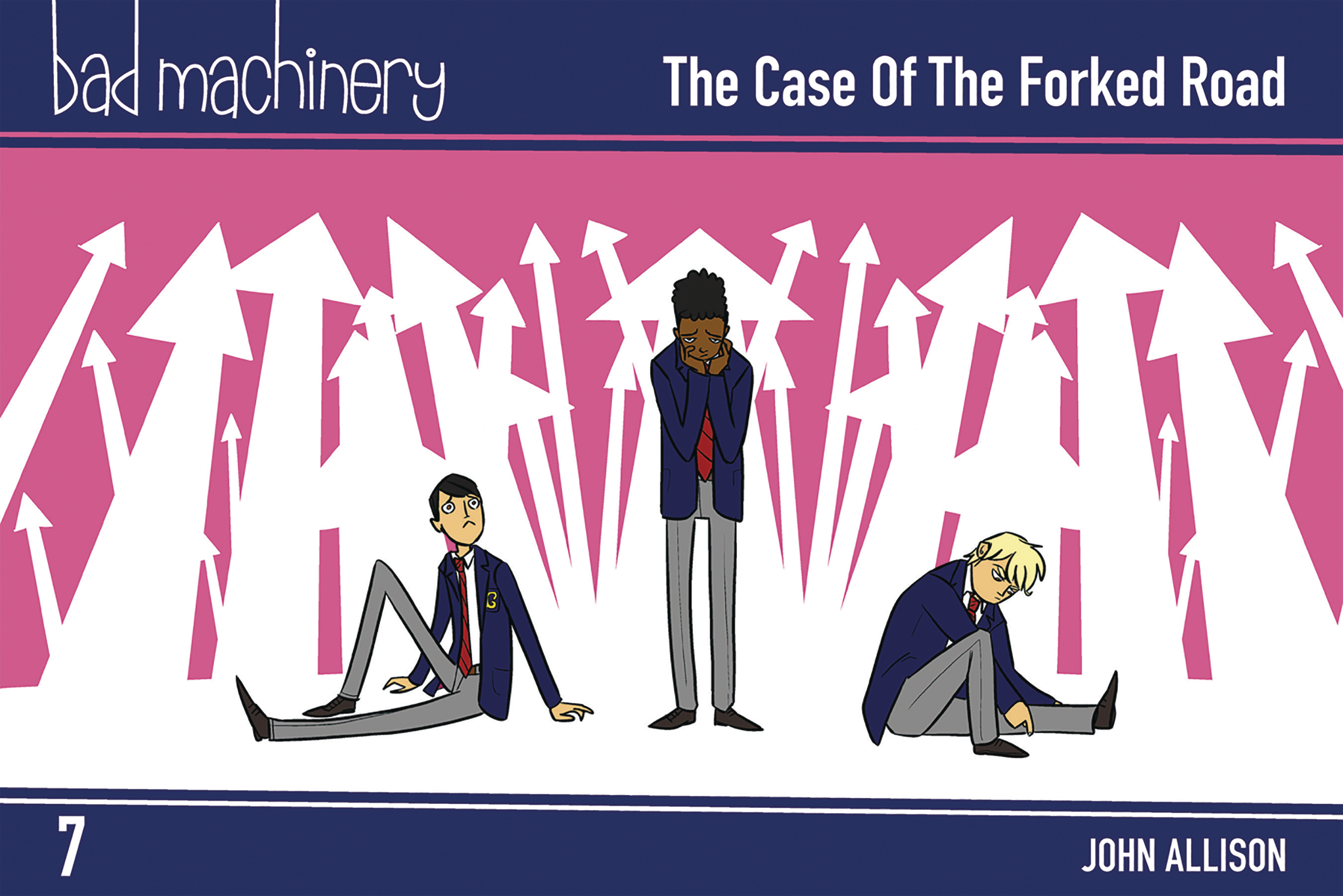 BAD MACHINERY POCKET ED GN VOL 07 CASE FORKED ROAD