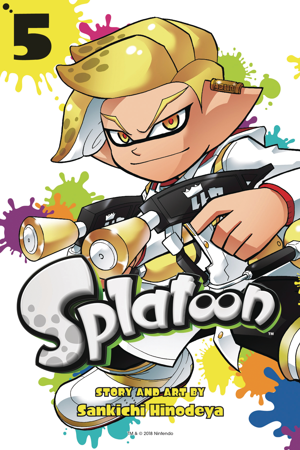 SPLATOON MANGA GN VOL 05