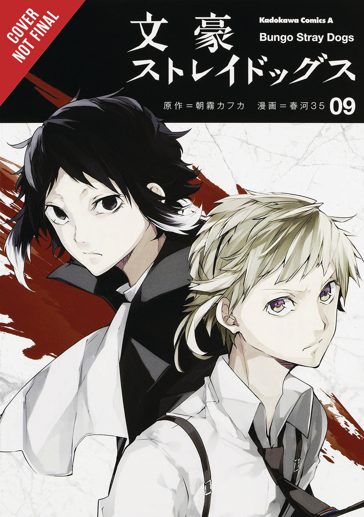 BUNGO STRAY DOGS GN VOL 09