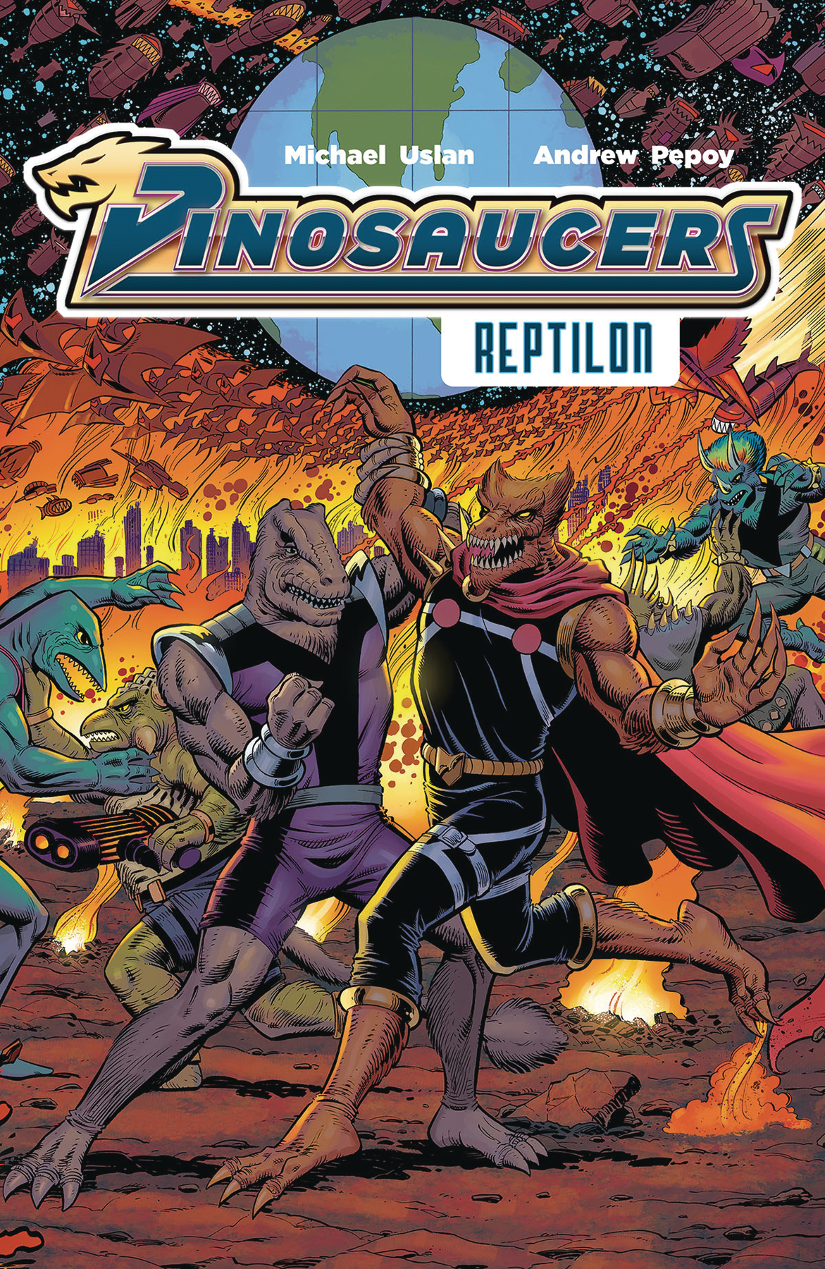 DINOSAUCERS TP VOL 01 REPTILON