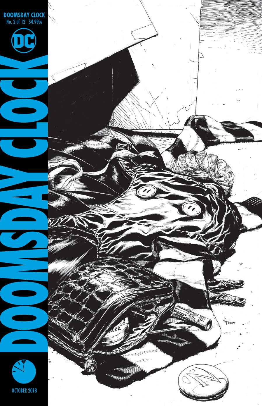 DOOMSDAY CLOCK #2 (OF 12) 3RD PTG