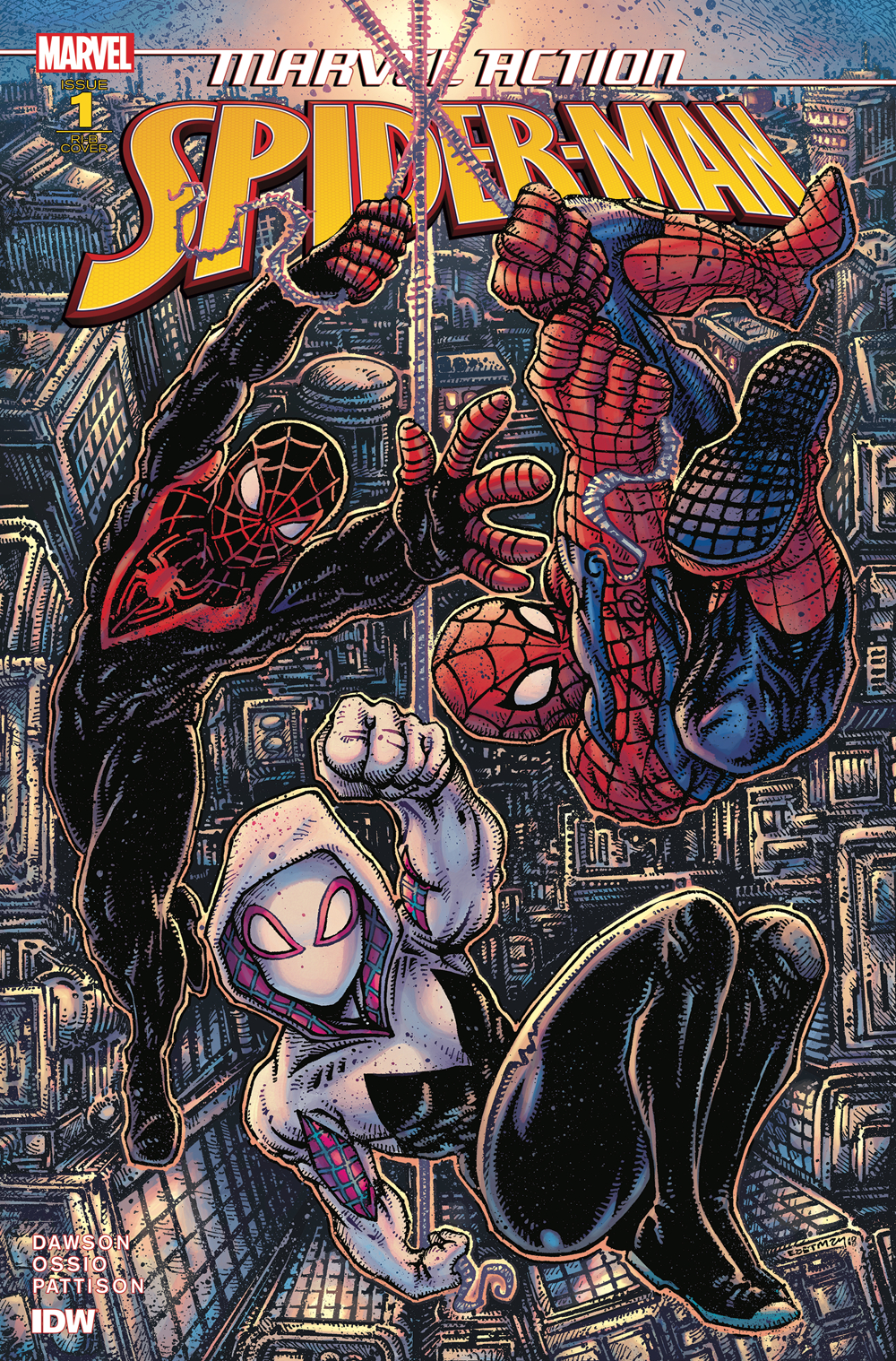 SPIDER-MAN (IDW) #1 25 COPY INCV